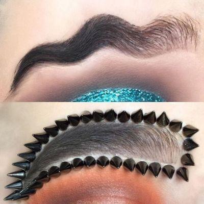 Bloggeritele de beauty au lasat un nou trend in materie de pensat. Cum arata sprancenele coada de peste