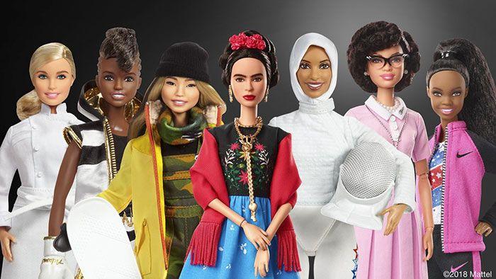 De 8 martie, cea mai celebra papusa se transforma in modele inspirationale. Cum arata noile Barbie