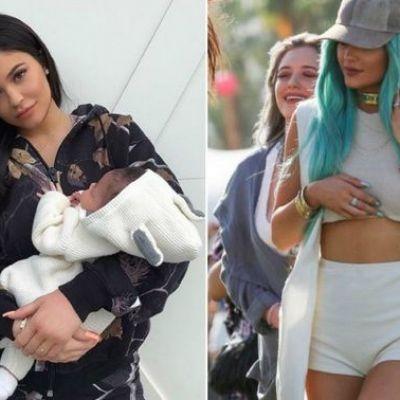 Kylie Jenner, desfiinţată de mamele de pe internet. Cu greu te poţi numi mamă!