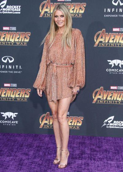 Gwyneth Paltrow, apariție surprinzătoare la premiera Avengers. Cum arată la 45 frumoasa actriță