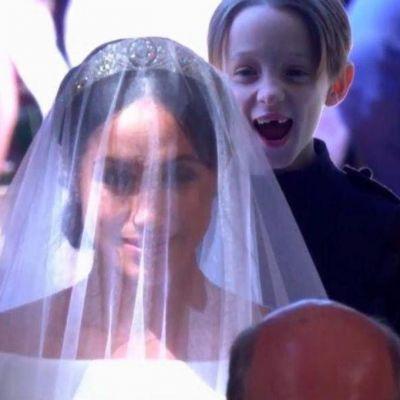 Momente inedite de la nunta Prințului Harry cu Meghan Markle