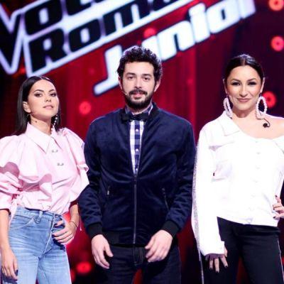Începe Vocea României Junior. Andra, Moga și Inna se pregătesc să găsească cea mai bună voce de... pici
