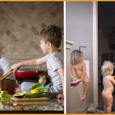 Un fotograf a surprins maternitatea asa cum e ea, de fapt. Seria lui foto a devenit virala