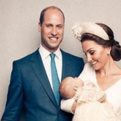 Primele portrete oficiale de la botezul Prinţului Louis au fost dezvăluite