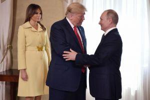 Reacția incredibilă a Melaniei Trump, după ce dă mâna cu Vladimir Putin