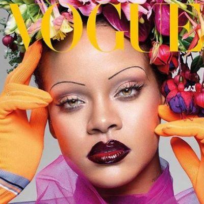 Adio sprâncene groase! Rihanna a lansat noul trend și toți specialiștii din industria beauty vorbesc despre asta
