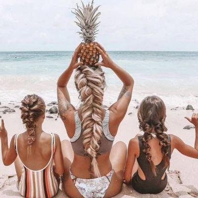 8 moduri sexy și practice de a-ți purta părul la plajă. Cum să impresionezi în vacanță