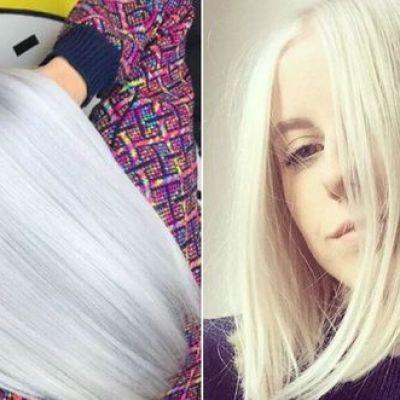 FOTO. Cele mai reușite nuanțe de blond argintiu care fac senzație pe Instagram