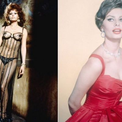 Sophia Loren- la fel de frumoasa la 84 de ani ca la 30! GALERIE FOTO