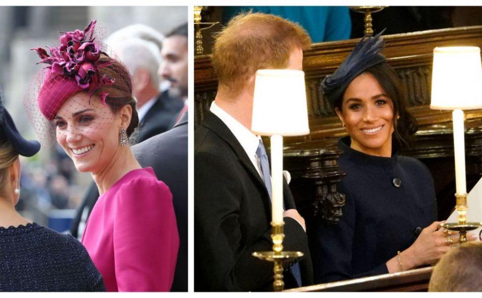 Nunta prințesei Eugenie. Cum s-au îmbrăcat Kate Middleton și Meghan Markle