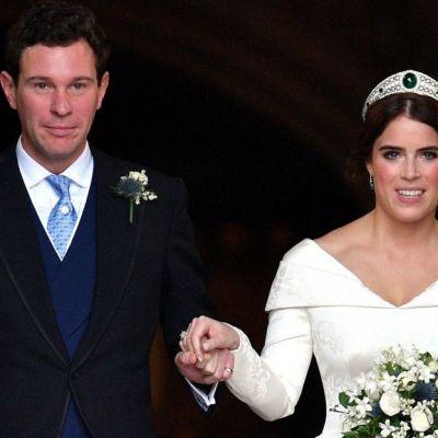 Prințesa Eugenie a încălcat protocolul regal. Ce rochie a ales să poarte la petrecerea de nuntă