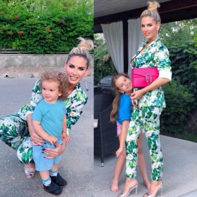 VIDEO: Imagini din intimitatea Andreei Banică: la picnic, cu toată familia!