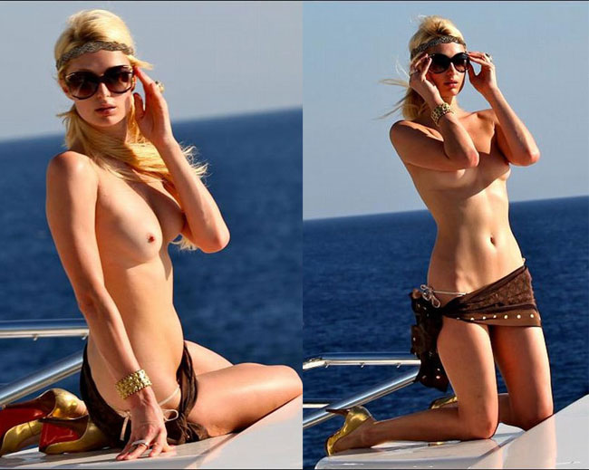 Paris Hilton Nude, Topless And Sexy
