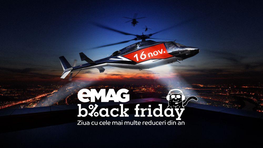 Ce produse s-au vândut cel mai bine de BLACK FRIDAY la eMAG