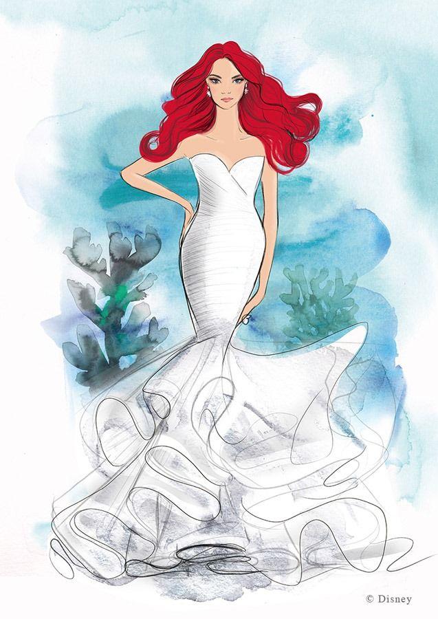 Cum arată și cât costă o rochie de mireasă marca Disney