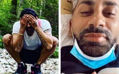 """""""Sunt puțin spart ! Connect-R a ajuns la spital: artistul, filmat pe patul de la Fundeni. Cum se simte acum"""