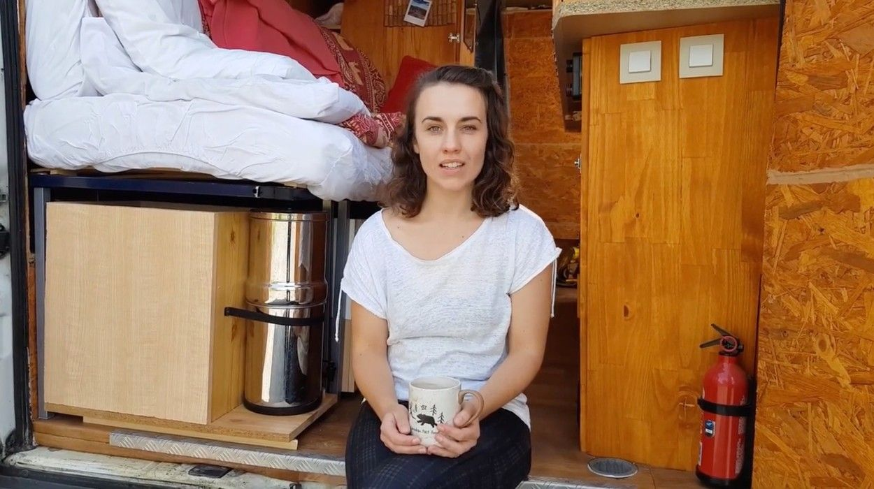 Rachel Horne, tânăra care și-a abandonat jobul pentru a duce o viață nomadă cu un bărbat pe care abia l-a cunoscut. FOTO: Profimediaimages.ro