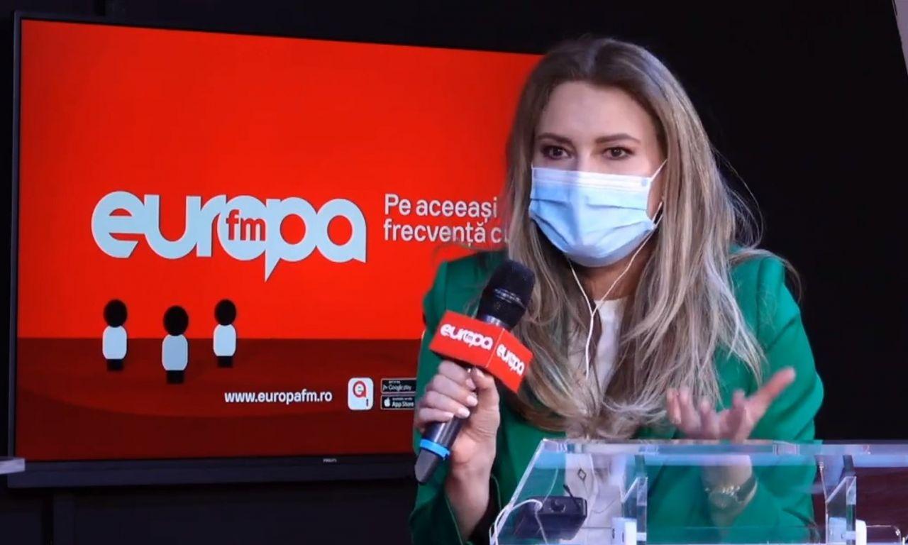 """Dana Războiu, la Europa FM: """"Violența psihologică este mai perversă, pentru că lasă urme care nu se văd"""""""